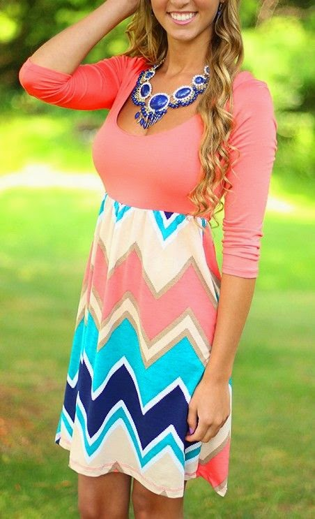 Top 5 Chevron Dresses