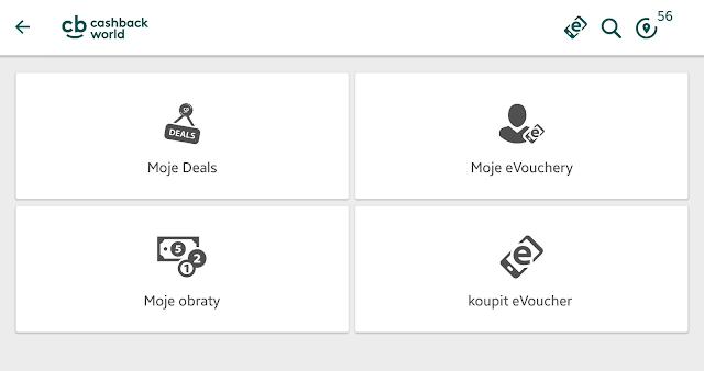 Cashback App - Moje poukázky & Deals