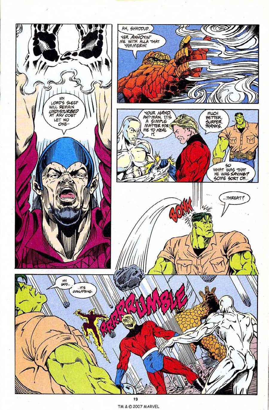 Read online Silver Surfer (1987) comic -  Issue #96 - 21