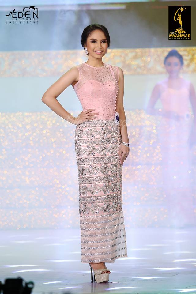 Emerald Nyein - Miss Myanmar International
