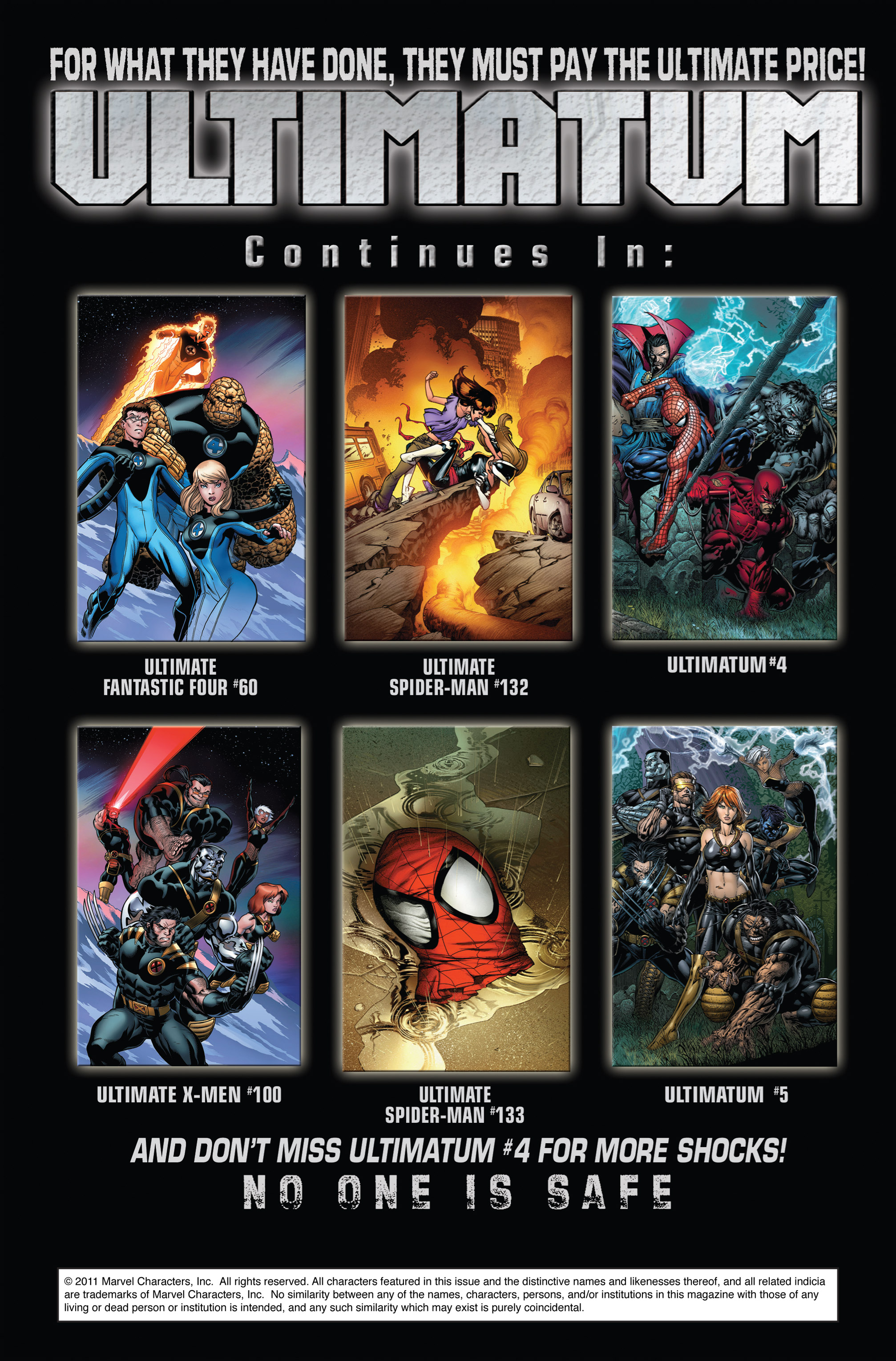Read online Ultimatum comic -  Issue # _TPB - 71