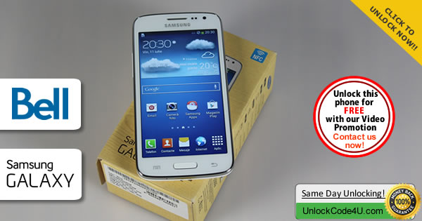 Factory Unlock Code Samsung Galaxy Core LTE from Bell