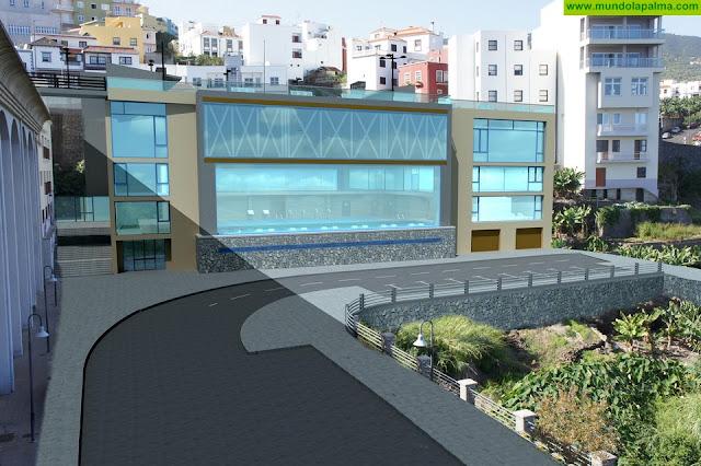 El Cabildo aporta financiación a la primera fase de las obras de un nuevo centro socio-deportivo de San Andrés y Sauces
