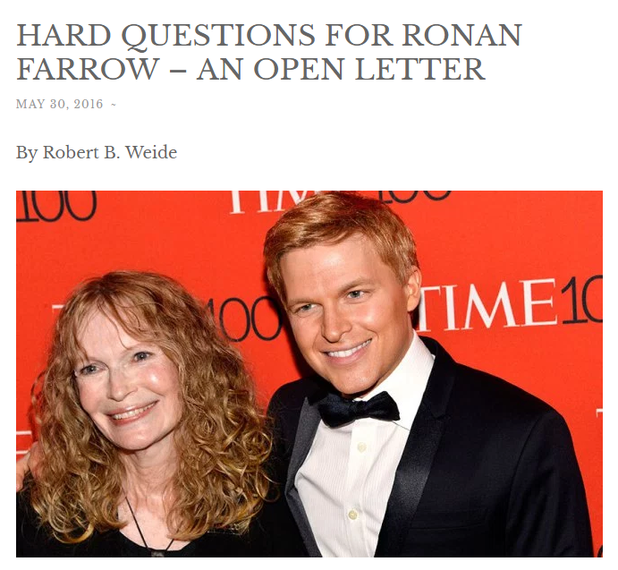 Robert B Weide: Kenneth In The (212): His Father, Ronan Farrow, And That