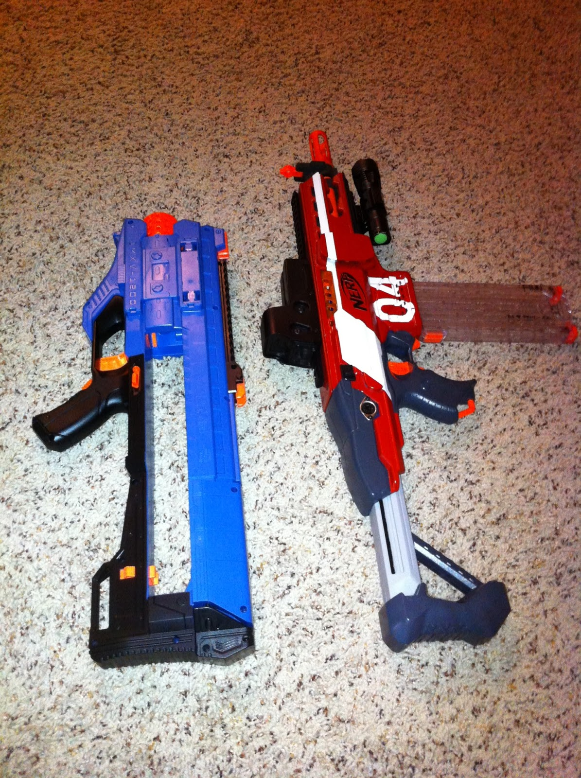 The Dart Zone Nerf Rival Zeus Rd Begins Stage 1 Upgrades