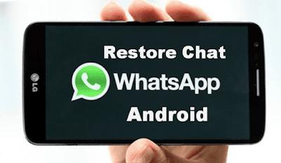 Trik Mengembalikan Chat Whatsapp Yang Hilang/Terhapus