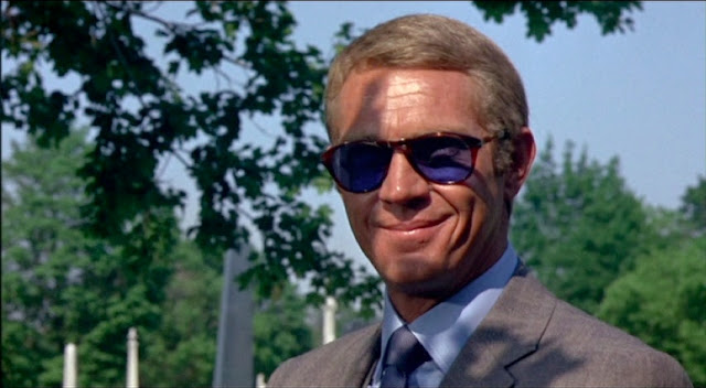 d0a9fcb7ec Cinema Style File--Steve McQueen Steals High Style in 1968 s THOMAS ...