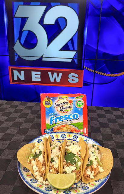Celebrate Spring with Fresco Tacos and Nuestro Queso! | all dressed up with nothing to drink...