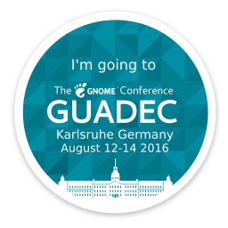 Amisha Singla: The much awaited GUADEC, 2016