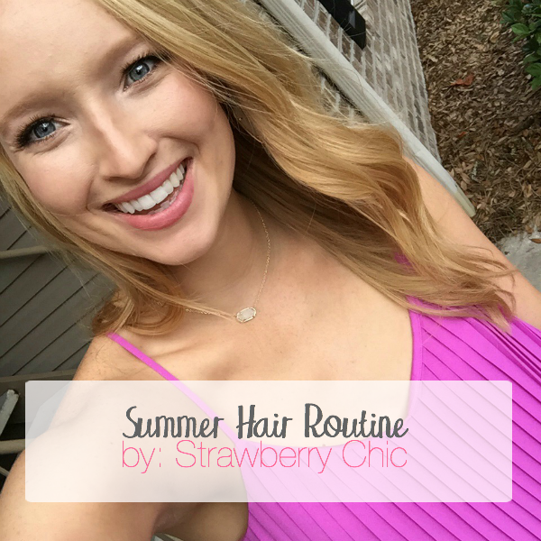 living proof, summer hair routine, how to tame humidity hair