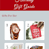 My Top 4 Gift Ideas For Her, Him, & The Kiddos {Gift Guide}