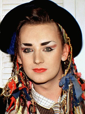Boy George in the 80s