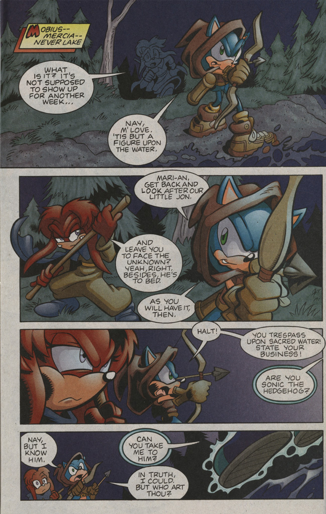 Read online Sonic The Hedgehog comic -  Issue #194 - 20