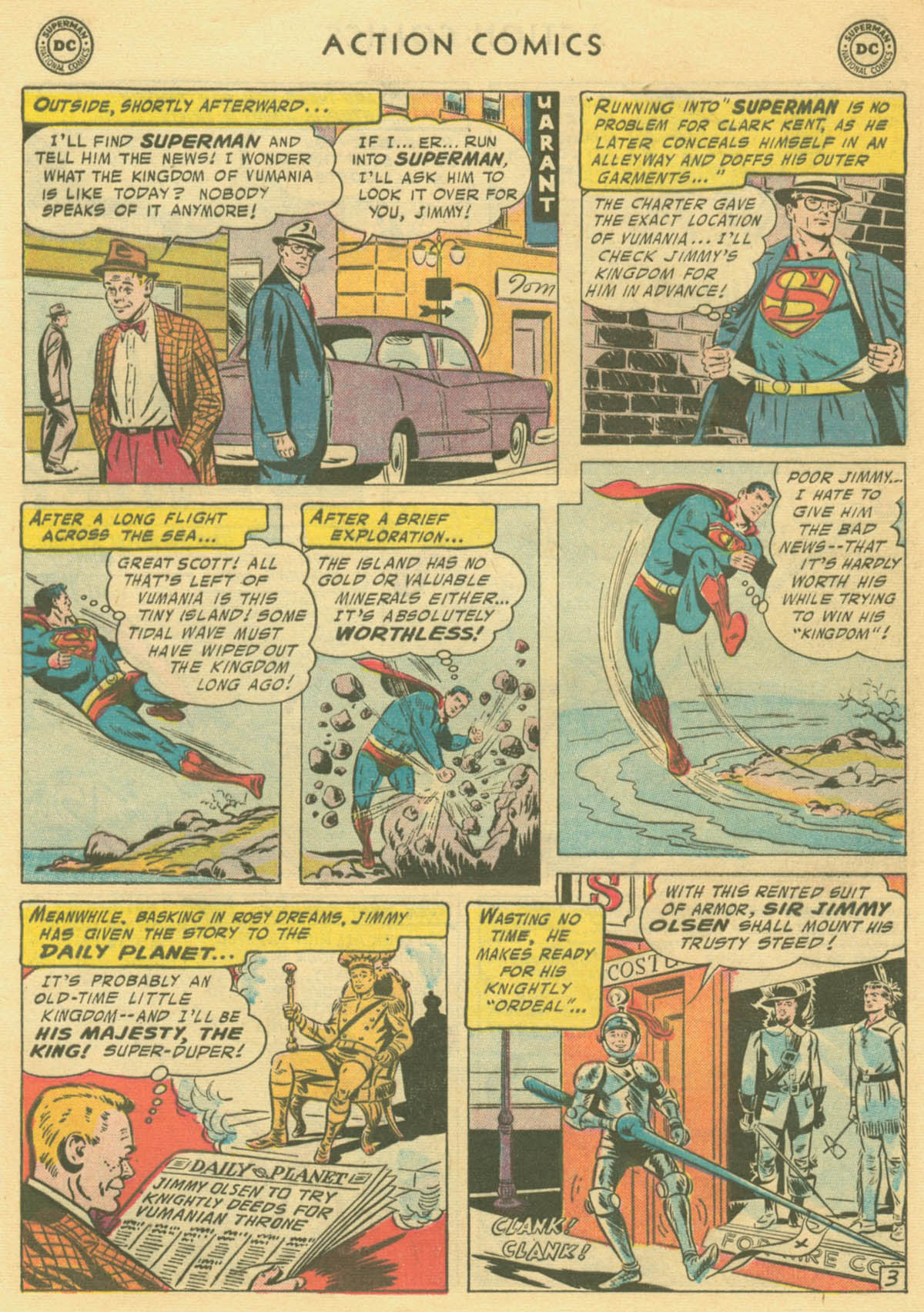Read online Action Comics (1938) comic -  Issue #231 - 5