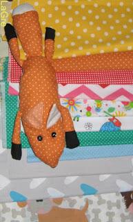 fox handmade mały książe
