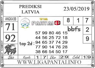 """Prediksi Togel """"LATVIA"""" PANTAI4D 23 MEI 2019"""