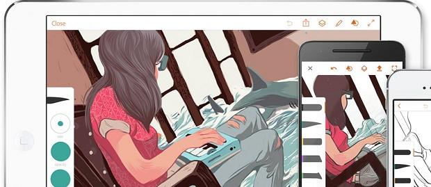Adobe Luncurkan Aplikasi Android Photoshop Fix dan Sketch , Ini Kehebatannya !