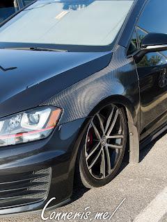 Volkswagen Golf carbon fiber front fender