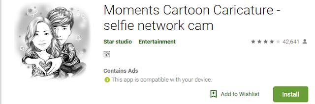 Download  5 Aplikasi  Android Untuk Mengubah Foto Wajah Anda ke Cartoon  2