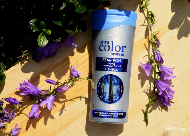 Joanna Ultra Color System szampon do włosów blond, rozjaśnianych i siwych - recenzja