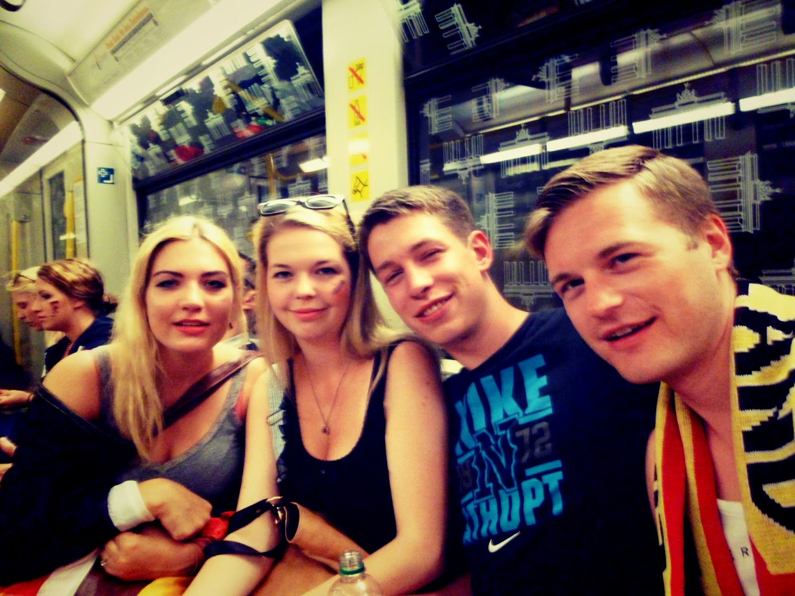 Fun in the Berlin Underground