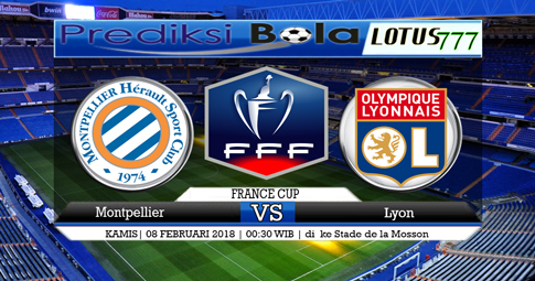 PREDIKSI SKOR  Montpellier vs Lyon  08 Februari 2018