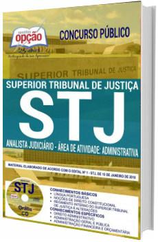 Apostila Concurso STJ 2018 Cargos de Nível Médio