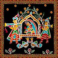 madhubani paintings on canvas for sale