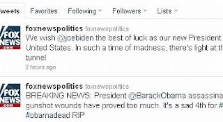 Presiden AS Barack Obama tewas terbunuh