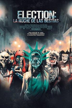 Poster The Purge: Election Year 2016