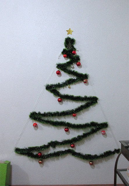 DIY Árvore de Natal: passo 5