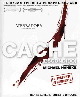 cache movie poster