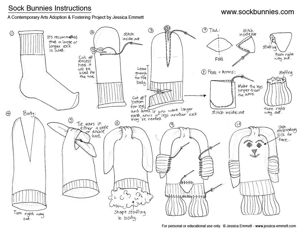 The Phenomenal Mama: DIY: Kokeshi Doll + Sock Bunny