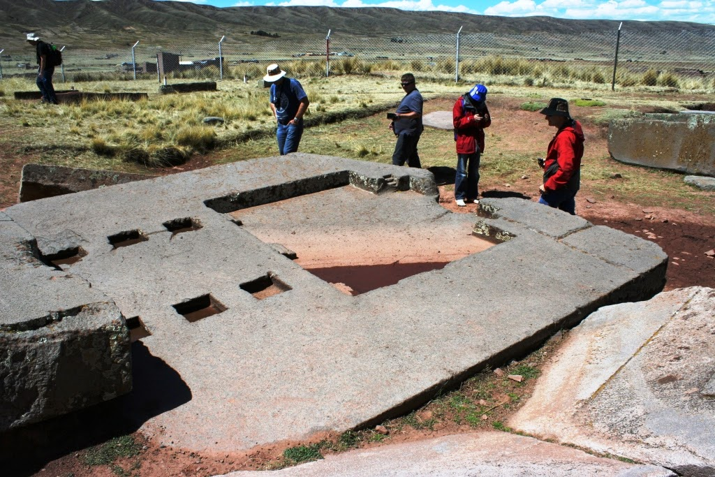 cosmogenic datovania megality na Puma punku