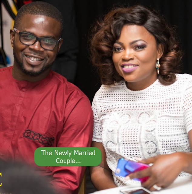 funke akindele secret wedding london