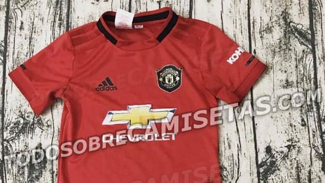 Jersey Manchester United Terbaru Musim 2019-2020 Bocor