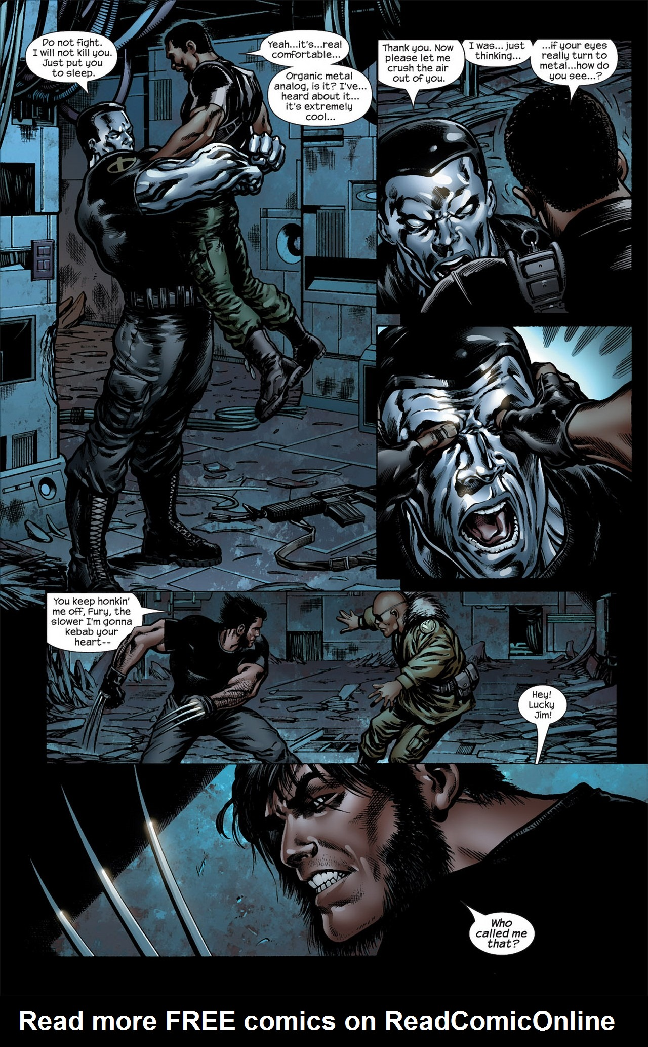 Read online Ultimate Nightmare comic -  Issue #5 - 14