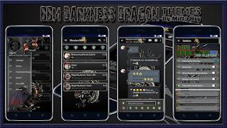 BBM MOD Darkness Dragon v3.2.0.6 Apk Terbaru 2016