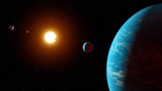 Sistema multi-planetário encontrado através de Zooniverse