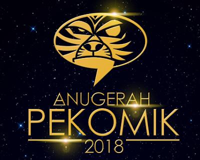 Akhirnya..Anugerah PeKOMIK Kini Kembali! Baca Syarat Dan Download Borang Untuk Penyertaan