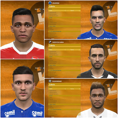 PES 2016 Facepack Update 20.08 by Lucas Facemaker