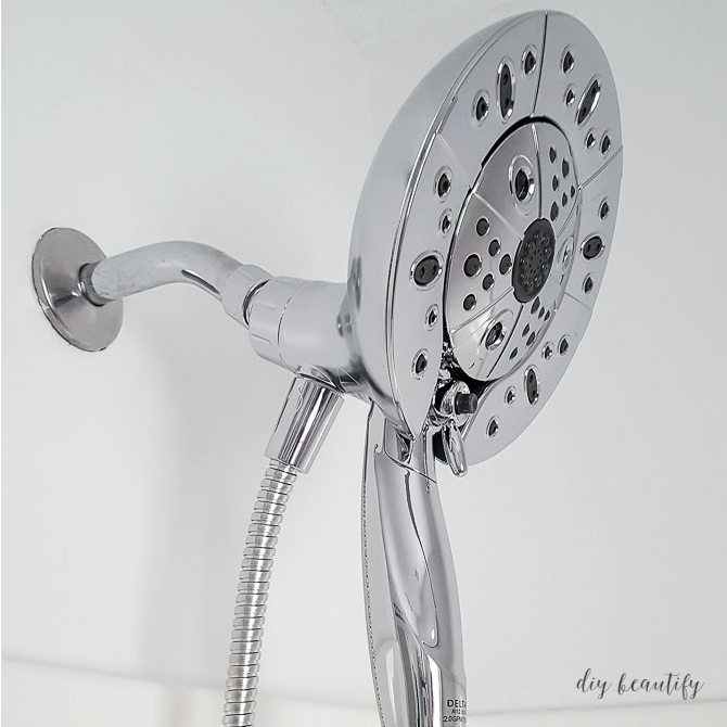 How to Swap out a Showerhead (and Delta ShowerHead Giveaway) | DIY ...