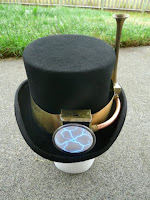 http://www.instructables.com/id/Sir-Corvus-Electro-refractive-Top-Hat/step3/Top-Hat-The-Product/
