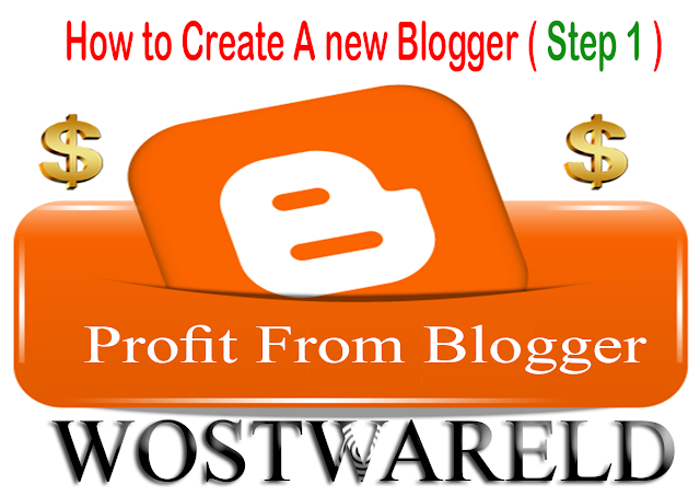How to Create A new Blogger