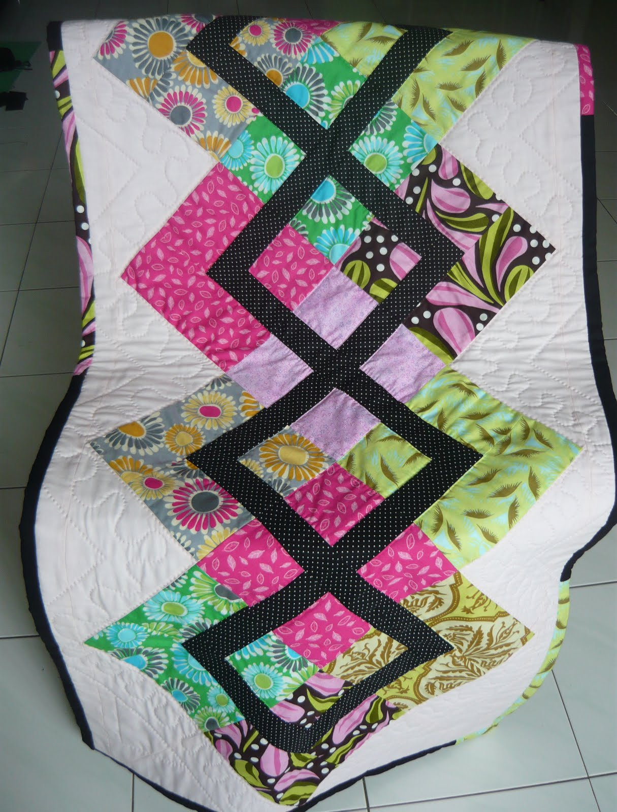 Imaginative Expression of Ideas: 2 Sofa Cover Quilt and ...