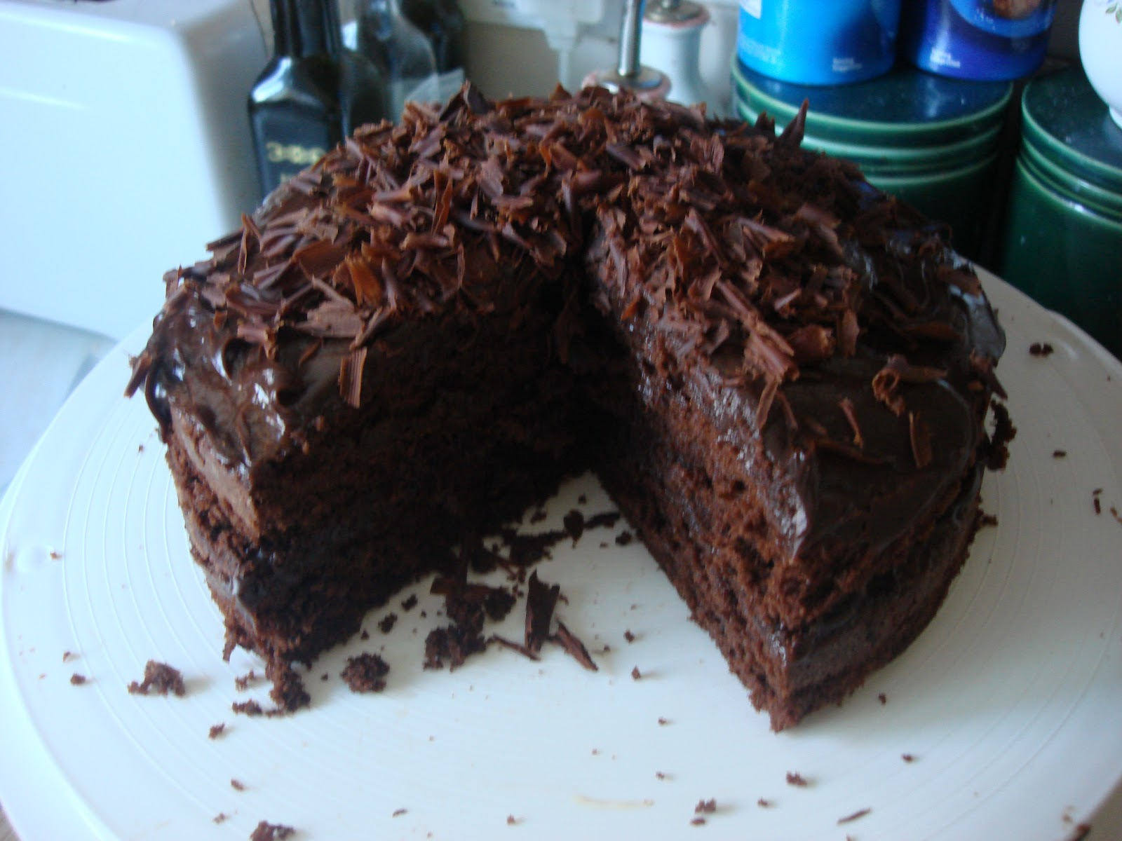 Mary Berry Chocolate Fudge Cake Tray Bake
