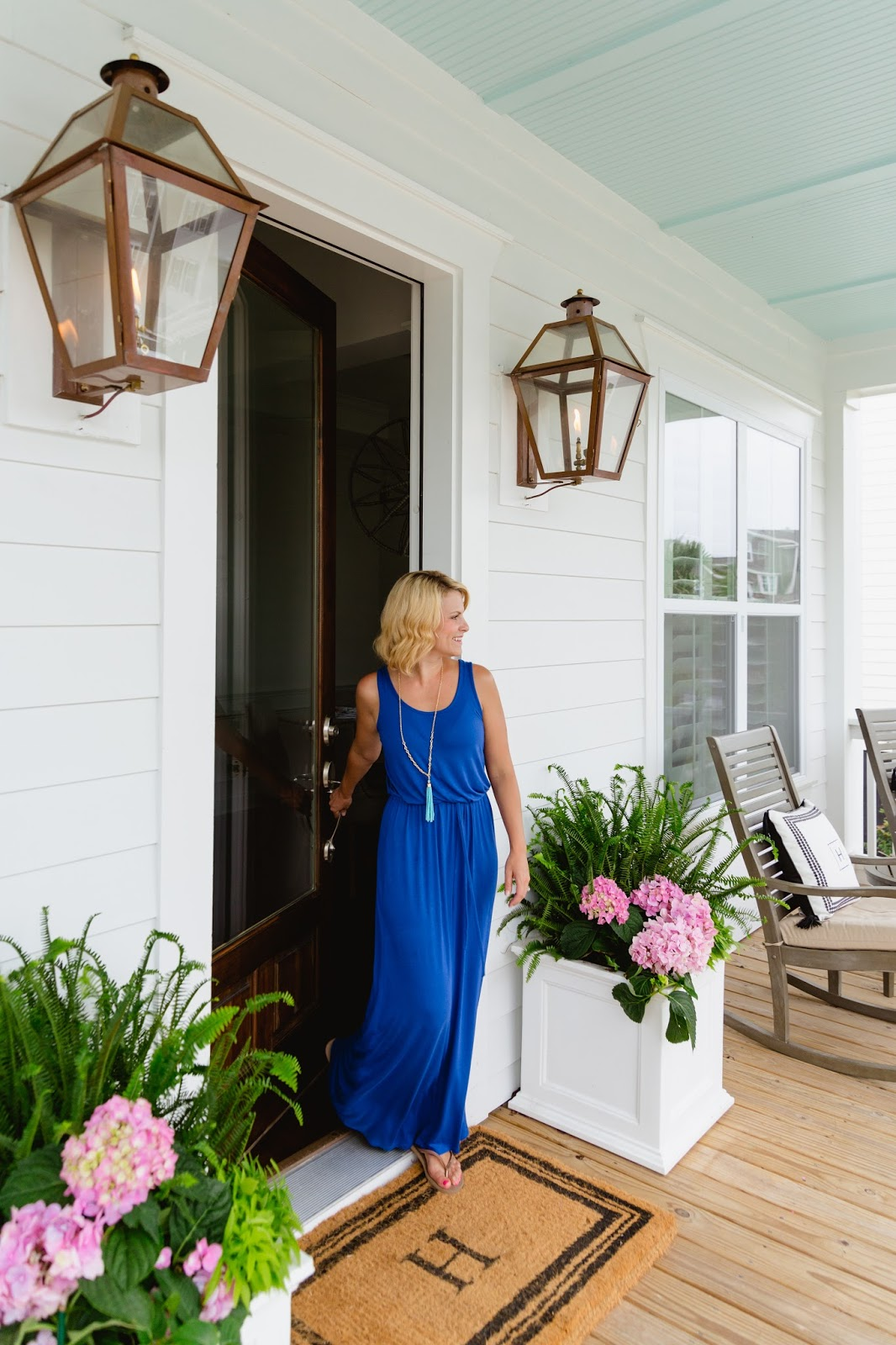 Hanging With The Hewitts Our Patio Porch Reveal With Grandinroad