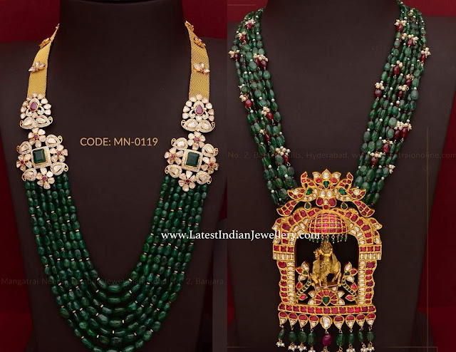 Vogue Jewellery in Emerald Beads