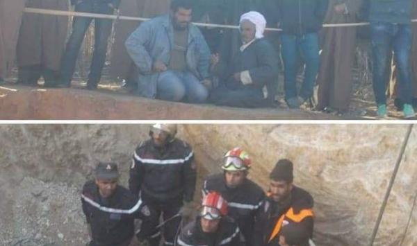 بالفيديو عملية الحماية المدنية لانقاذ الشاب عياش
