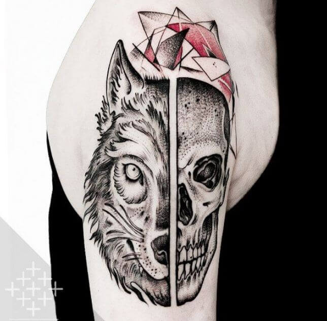 46 Unique Wolf Head Tattoos Ideas: 64 Best Wolf Tattoo Designs For Men And Women (2018